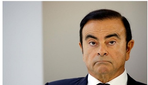Former Nissan chairman, Carlos Ghosn