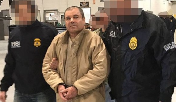 Joaquín 'El Chapo' Guzmán was extradited to the US by the Mexican authorities in 2017
