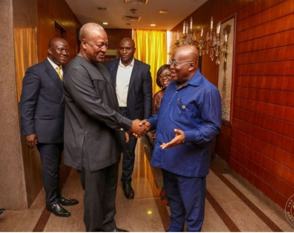 Mahama and Akufo-Addo