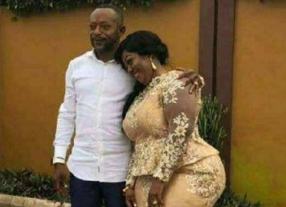 Owusu Bempah and wife
