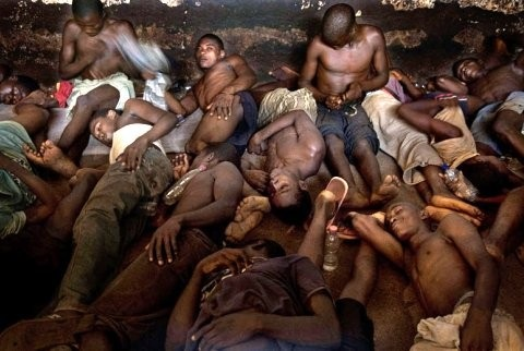 Prisoners in their ward (File photo)