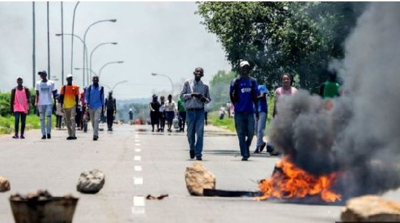 Protests erupted over a steep increase in fuel prices
