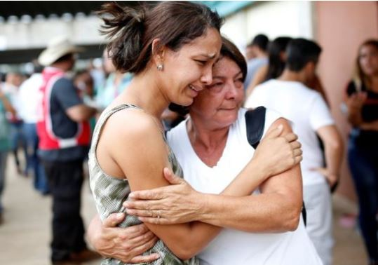 Relatives of those who remain missing await news of their loved ones