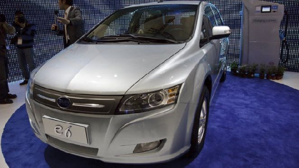 Rules to cut pollution are expected to boost sales for electric carmakers such as BYD