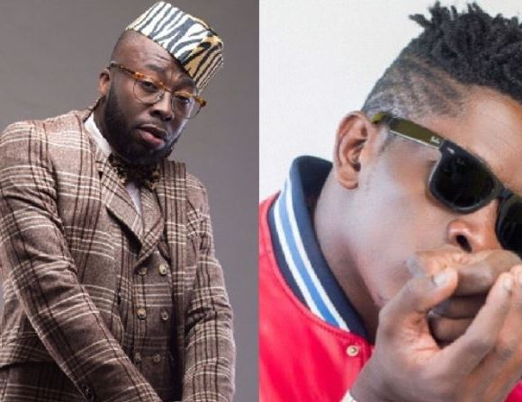 Shatta Wale and Andy Dosty
