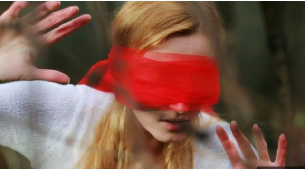 The film has led to a craze in which people attempt everyday tasks while blindfolded