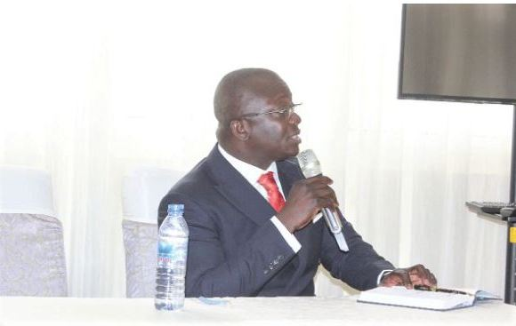 Bryan Acheampong - Minister of State in charge of National Security
