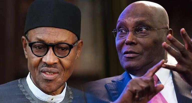 Buhari and Atiku - fresh