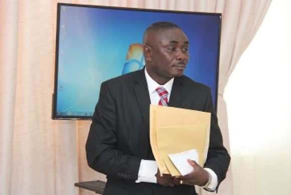 Colonel Michael Opoku, Director of Operations, National Security.