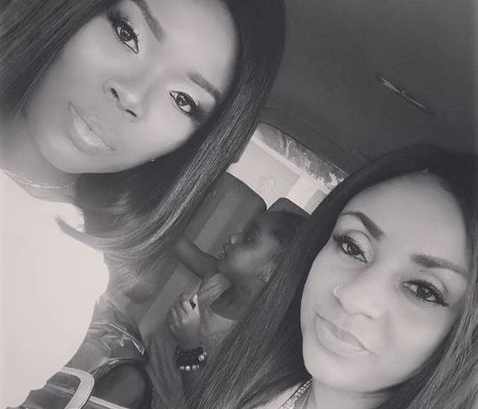 Delores Frimpong Manson and Gifty Gyan