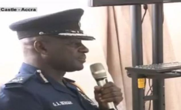 Deputy Commissioner of Police in- charge of Operations, George Alex Mensah