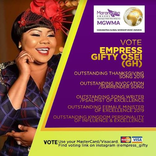 Gifty vote, Ghana Music News Articles