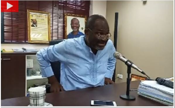 Ken Agyapong is angry