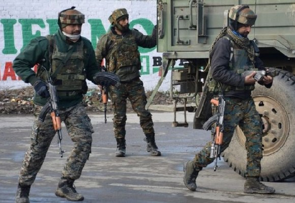 More than 40 Indian soldiers were killed in a suicide attack