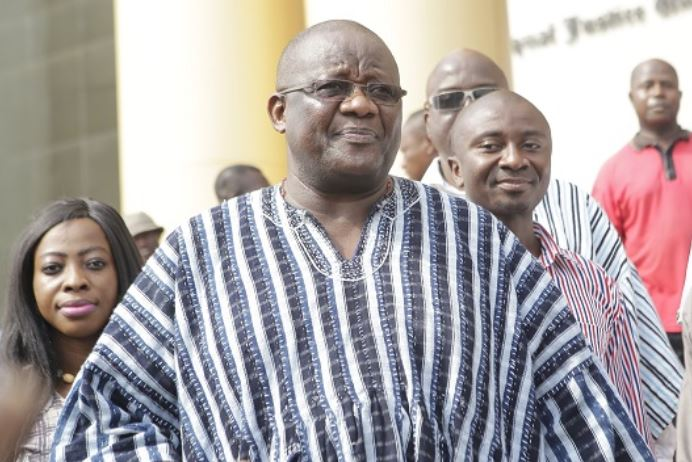 Paul Afoko, former National Chairman of the New Patriotic Party (NPP