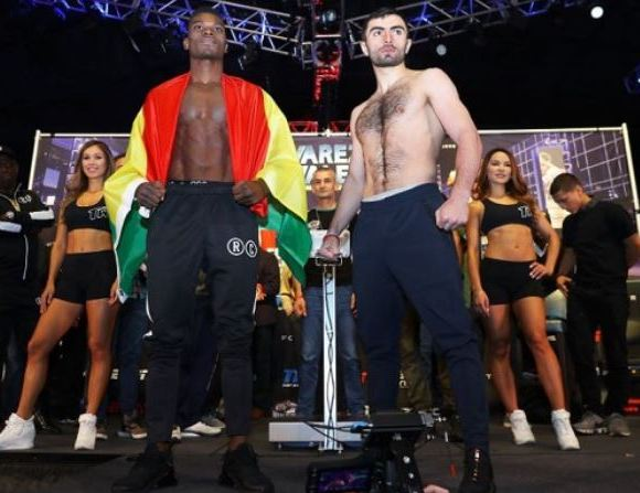 Richard Commey ready for tonight's battle against Isa Chaniev