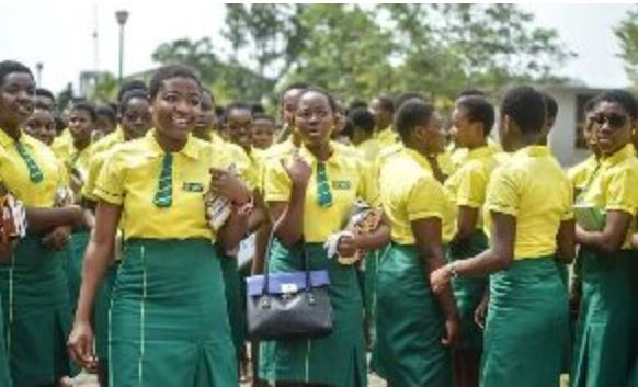 Some Wesley Girls students, Ghana Political News Report Articles