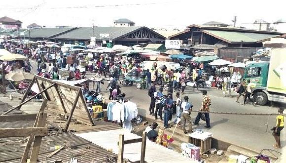 Traders in Ashaiman