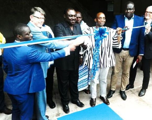factory inaugurated in Tema