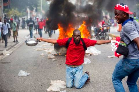 haiti-protesters-call-on-president-jovenel-moise-to-quit