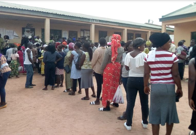 voters at polling station, Ghana Political News Report Articles