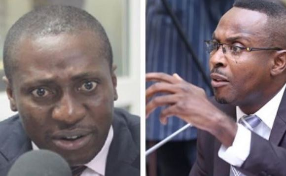Afeyo-Markin, MP for Effutu and Kwamena Duncan, Central Regional Minister