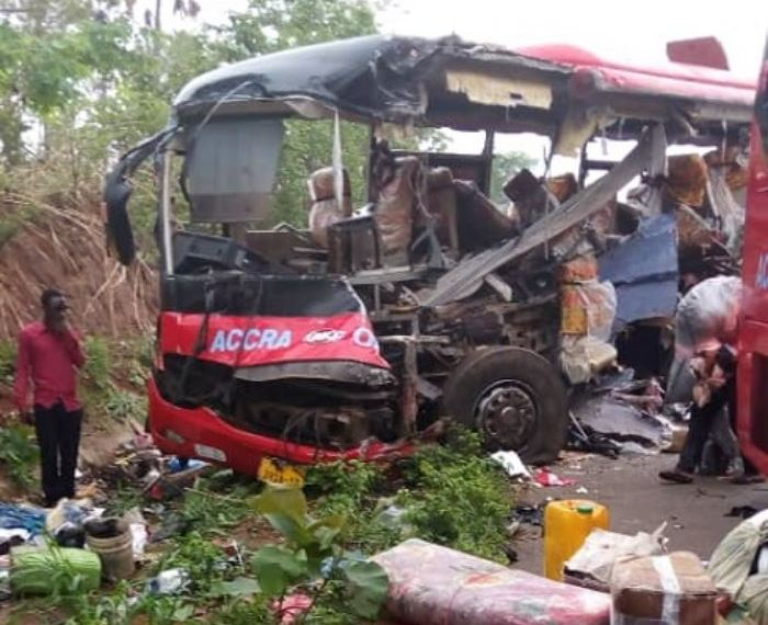 At least 60 people were crashed dead last Friday in two separate accidents