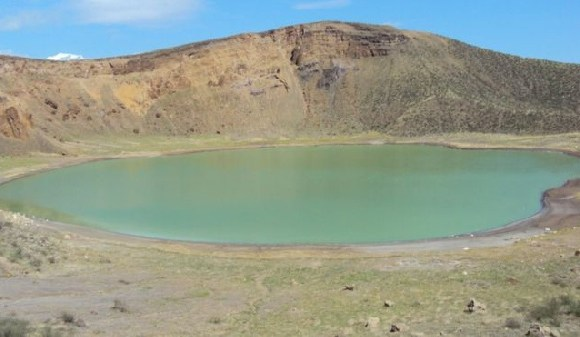 Central Island National Park has three crater lakes