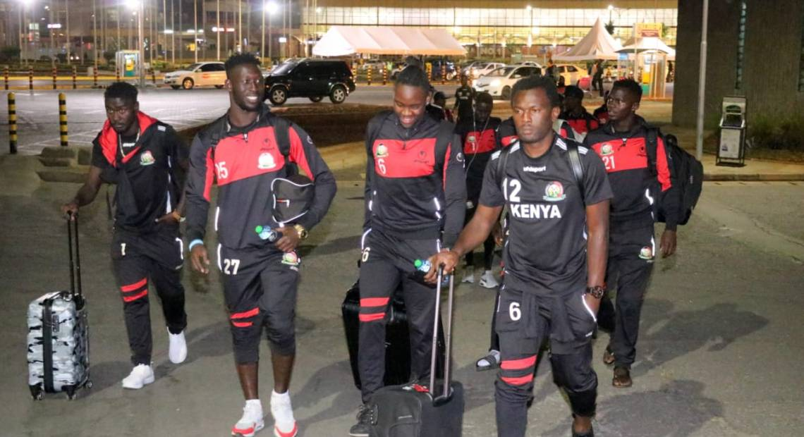 Kenya to arrive in Ghana today for final Afcon qualifier