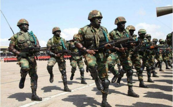 Ghana military troops