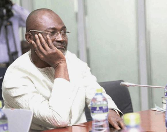 Kennedy Agyapong angry