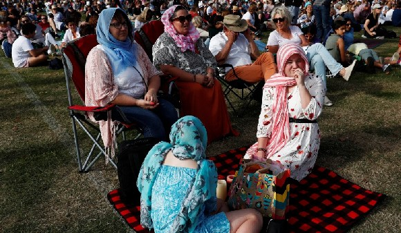 Many non-Muslim women have worn headscarves in recent days as a show of solidarity