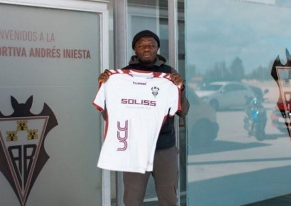 Sulley Muntari now plays for Albacete