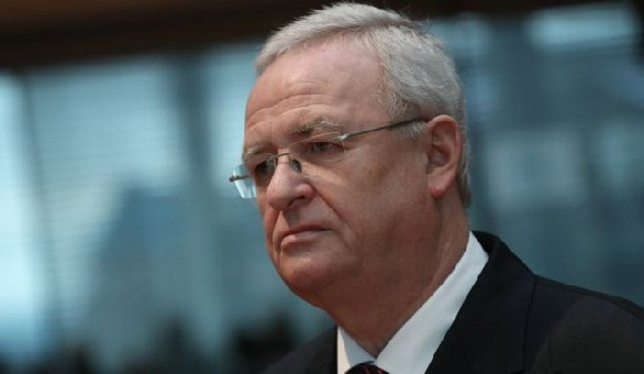 Volkswagen's former chief executive, Martin Winterkorn