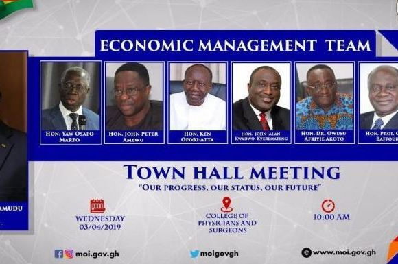 ministers to speak on economy