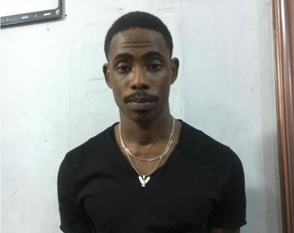 Abdul Rashid Meizongo was arrested at the West Hills Mall