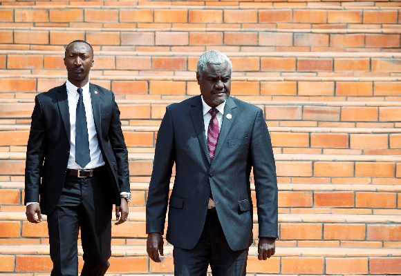 African Union Commission Chairperson Moussa Faki Mahamat
