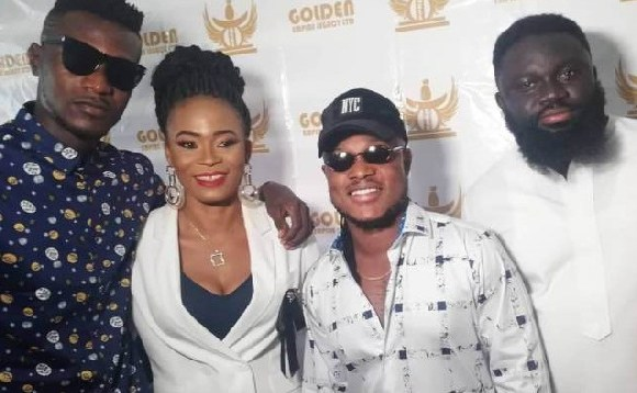 CEO of Golden Empire Legacy Limited, Joana Gyan with Keche