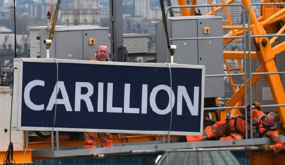 Construction and Services company, Carillion collapsed last year