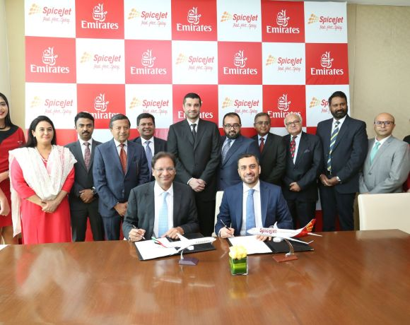 Emirates passengers can now enjoy seamless connectivity on flights to In...