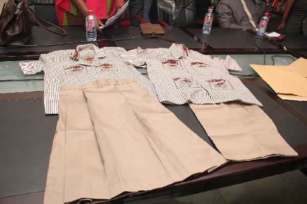 GES announced the introduction of the new school uniform for JHS students on Thursday