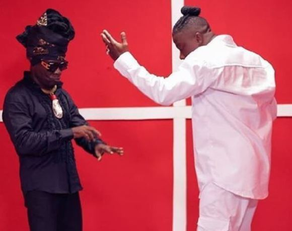 Kojo Antwi and Stonebwoy