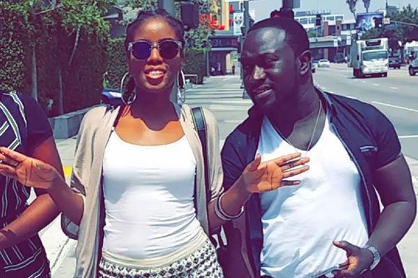MzVee and Richie Mensah