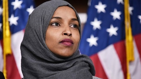 Representative Ilhan Omar is at the centre of the row about comments she made about 911