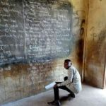 Teachers had to write on blackboard after GES directed them not to collect printing fees from pupils
