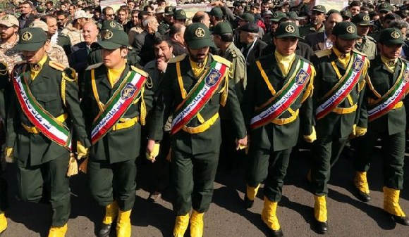 The US has sanctioned parts of the IRGC before