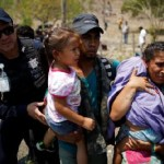 The raid targeted a group of Central American migrants, many of them travelling with children