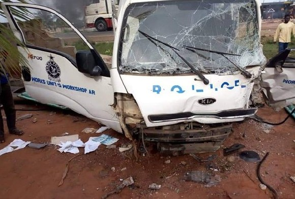 The said vehicle that rammed the teacher