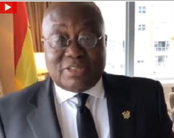 akufo-addo birthday video