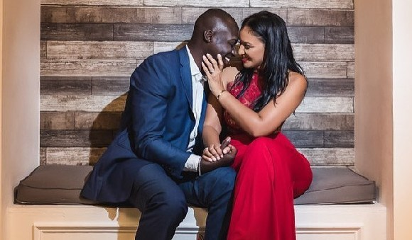 Chris Attoh and his late wife Bettie Jenifer